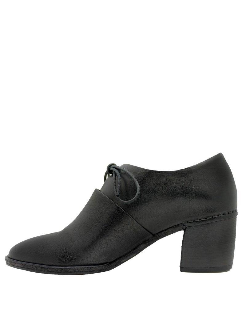 Del Carlo Del Carlo Black Block Heel 2039