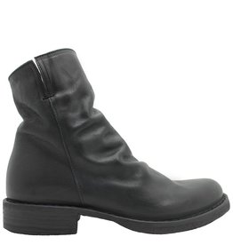 Fiorentini+Baker Fiorentini Black Ruched Ankle Boot Elf