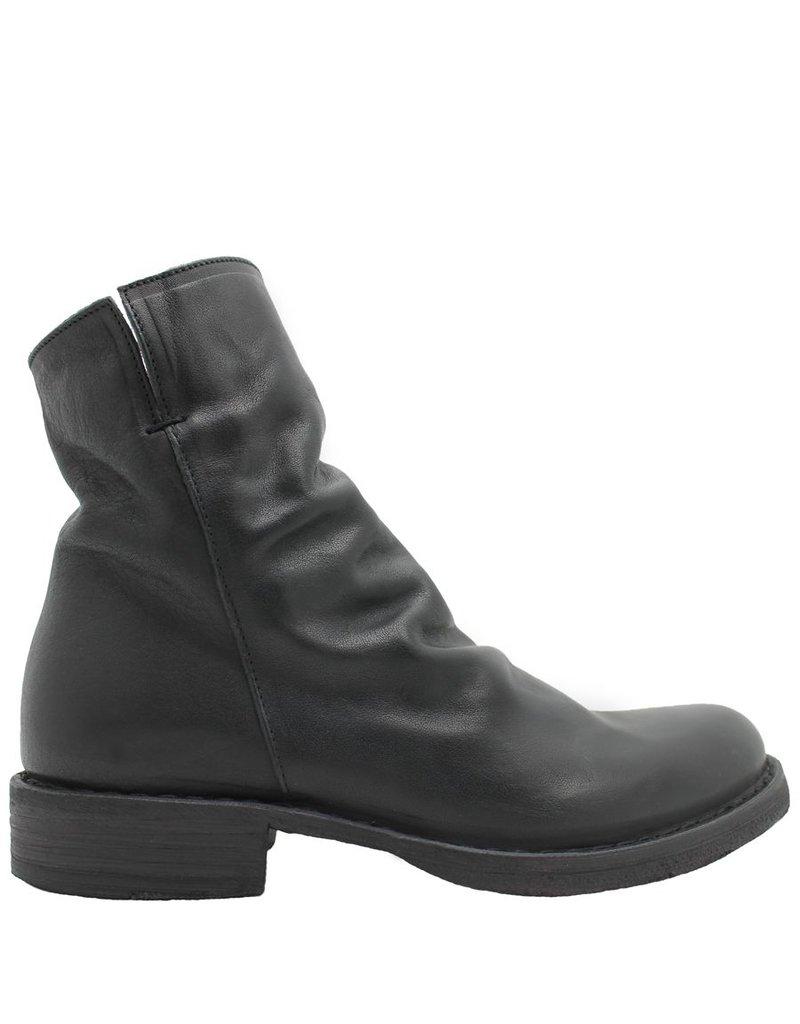Fiorentini+Baker Fiorentini Black Ruched Ankle Boot Elf