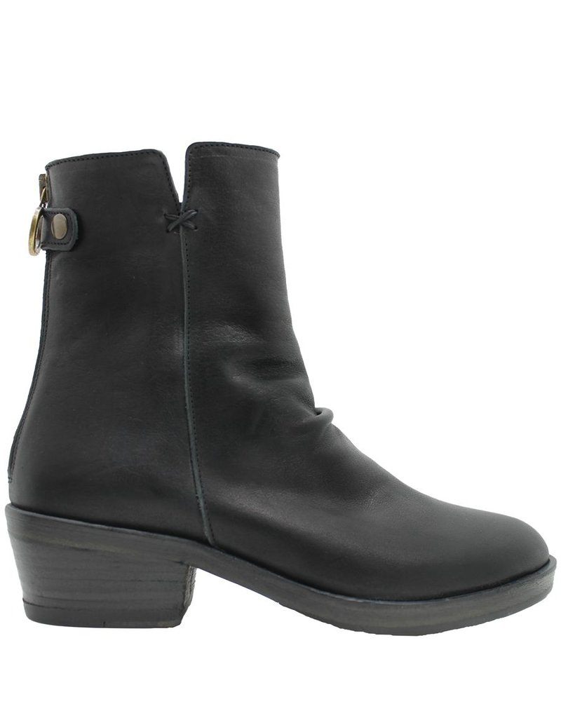 Fiorentini+Baker Fiorentini Black Back Zipper Boot Lipsy