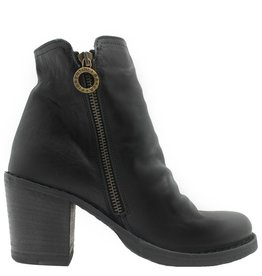 Fiorentini+Baker Fiorentini Black 2-Zipper Medium Heel Boot Lan