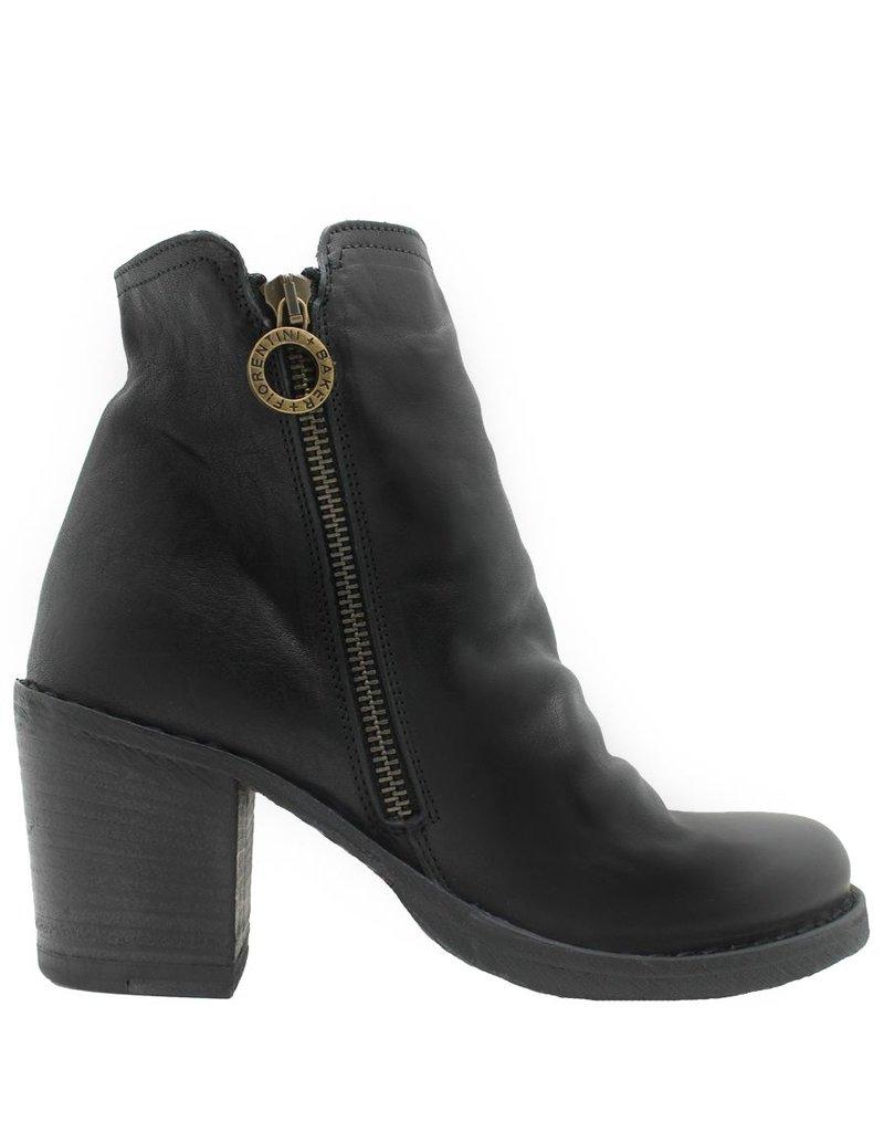 Fiorentini+Baker Fiorentini Black 2-Zipper Medium Heel Boot Lan