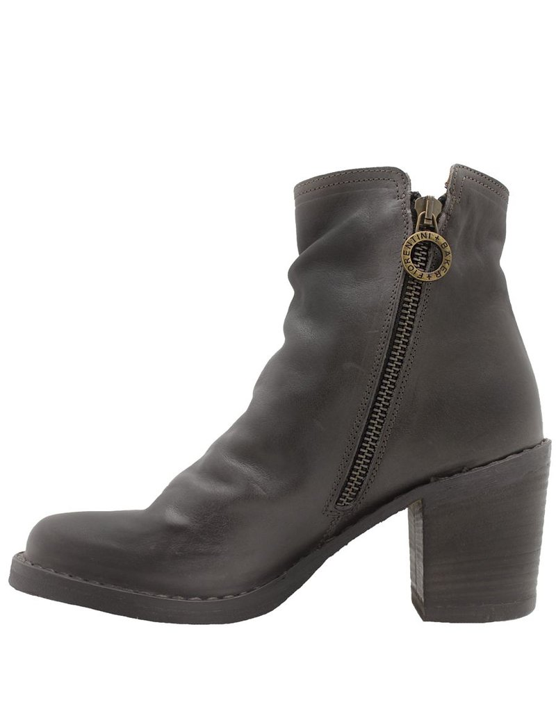 Fiorentini+Baker Fiorentini Elmo Grey 2-Zipper Medium Heel Boot Lan