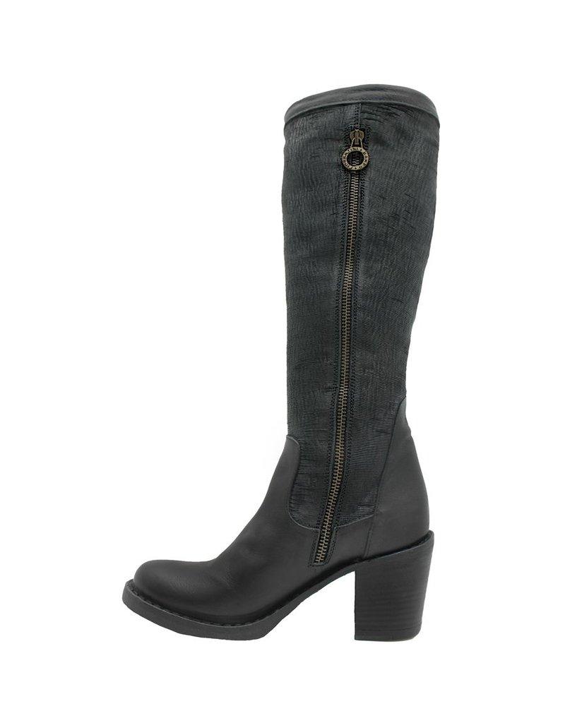 Fiorentini+Baker Fiorentini Black Laser Knee Boot Lea-Bi