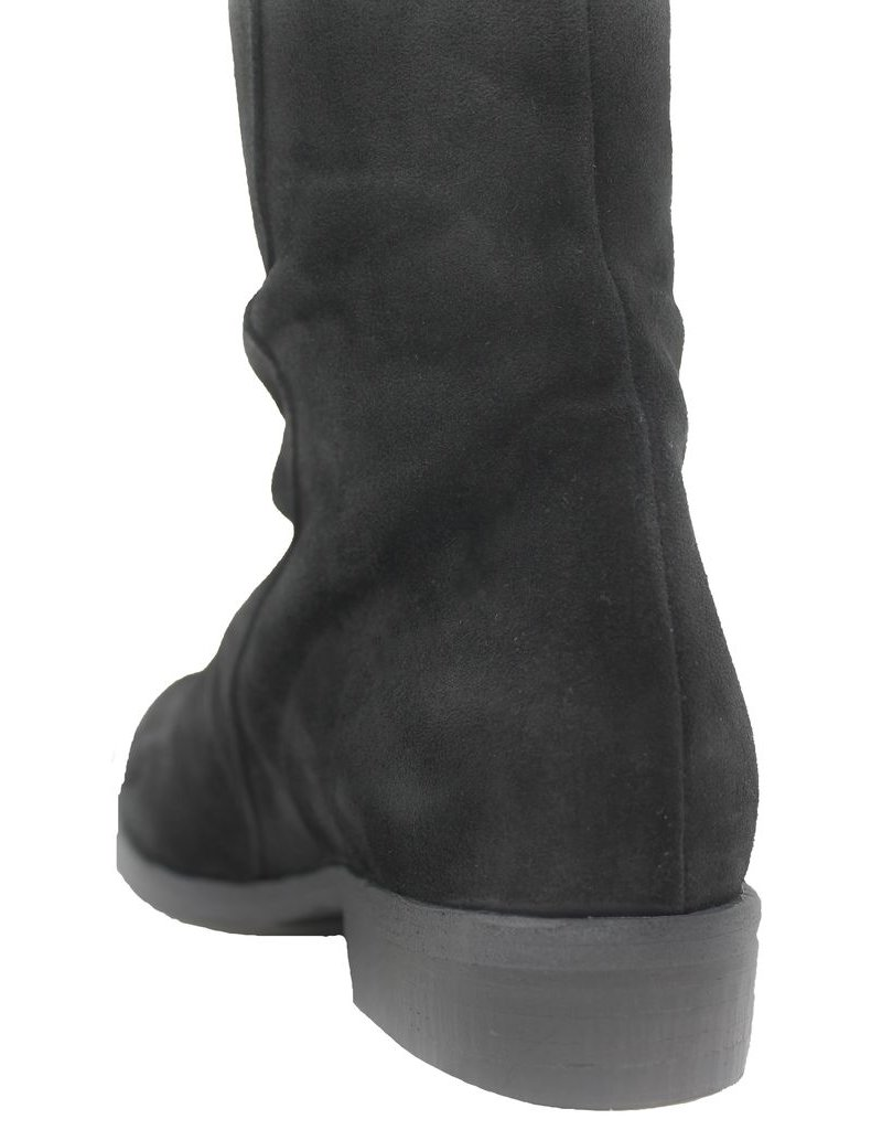 Fiorentini+Baker Fiorentini Black Suede Outside Zipper Maddy