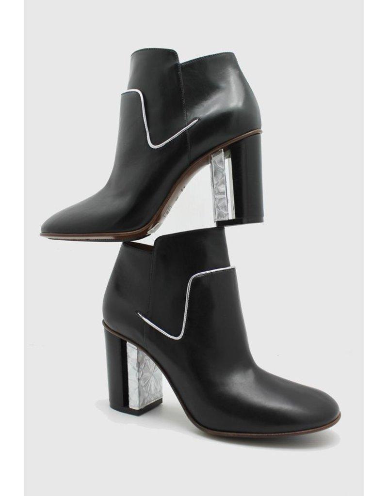 Stephen Black/Metal Ankle Boot 1671