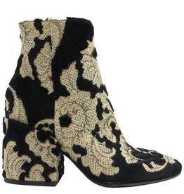 Strategia Strategia Black Gold Brocade Boot 2830