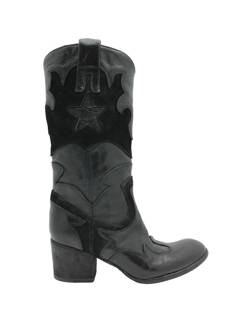 Fauzian Jeunesse FauzianJeunesse Black Star Western Boot 2506