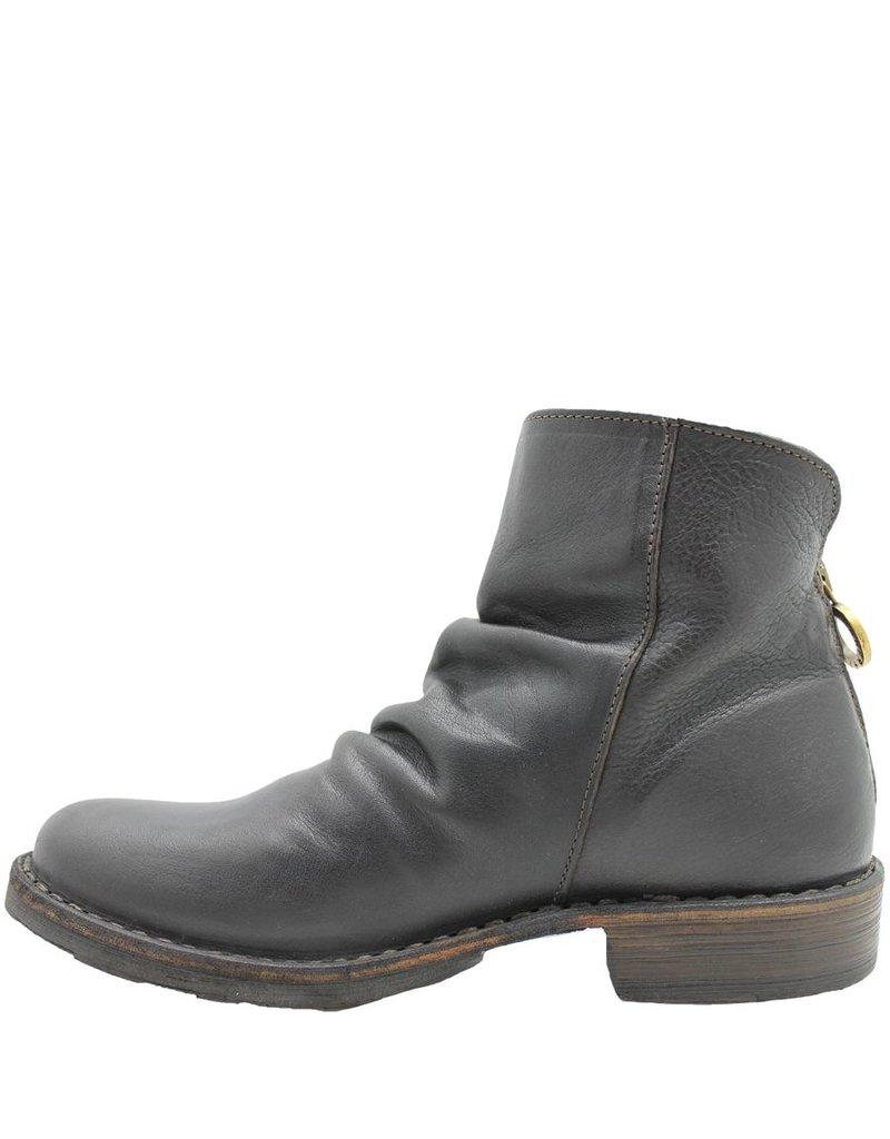 Fiorentini+Baker Fiorentini Brown Back Zipper Shoe Boot Elina
