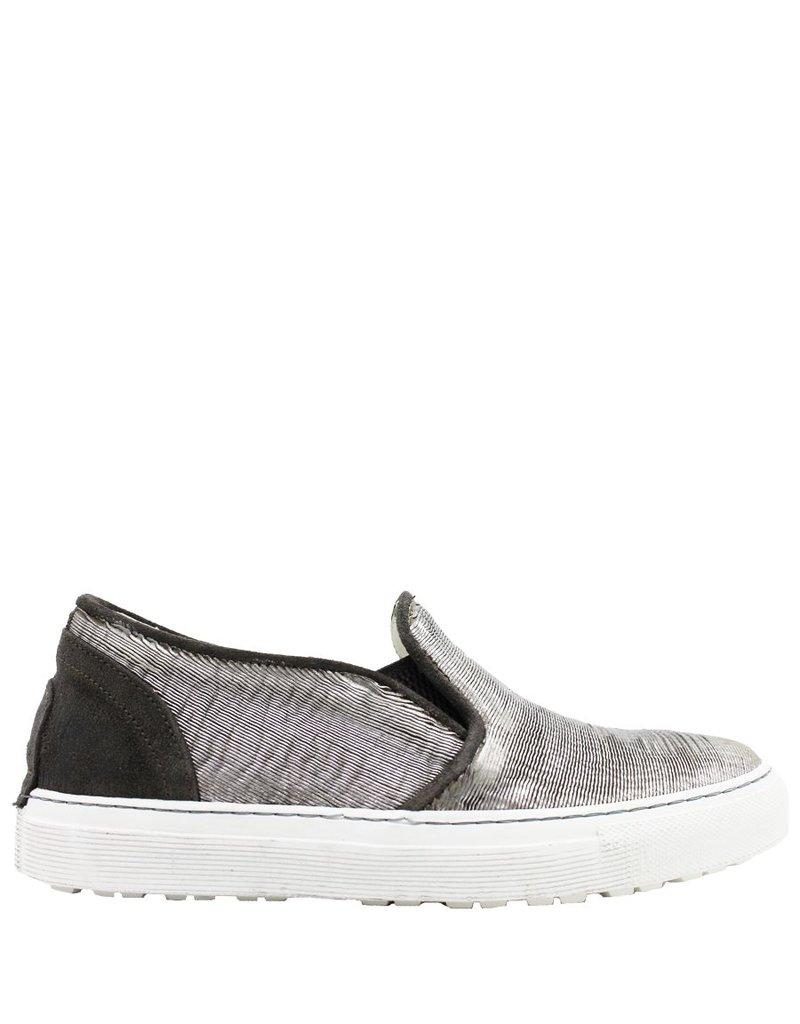Fiorentini+Baker Silver Laser Skate Sneaker Blis