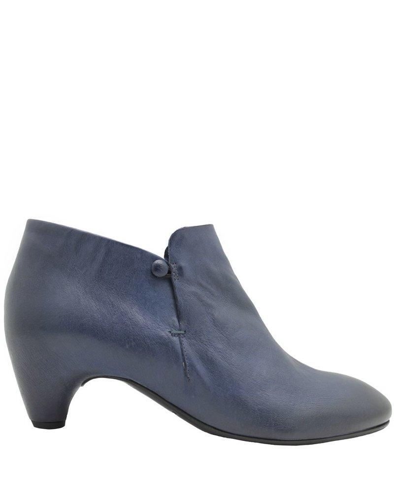 Del Carlo Del Carlo Blue Slip On Ankle Boot 2137