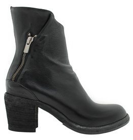 Officine Creative OfficineCreative Black Outside Zip Boot Roos