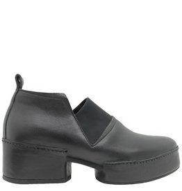 Ixos Ixos  Black Slip On Point Toe Platform 2526