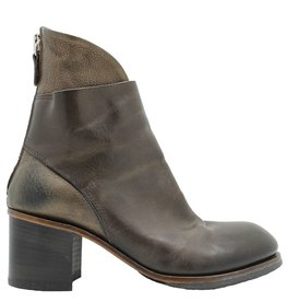 Moma Moma Taupe  Back Zipper Boot 8483