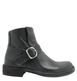Officine Creative OfficineCreative Black Buckled Boot Sophie