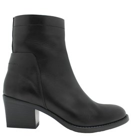 Ink Ink Black Side Zipper Ankle Boot 6140