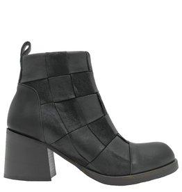 Ixos Ixos Black Woven Ankle Boot 4010