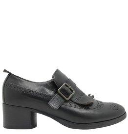 Moma Moma Black Kiltie Loafer 8488