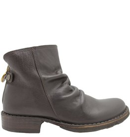 Fiorentini+Baker Fiorentini Brown Back Zipper Shoe Boot Elina