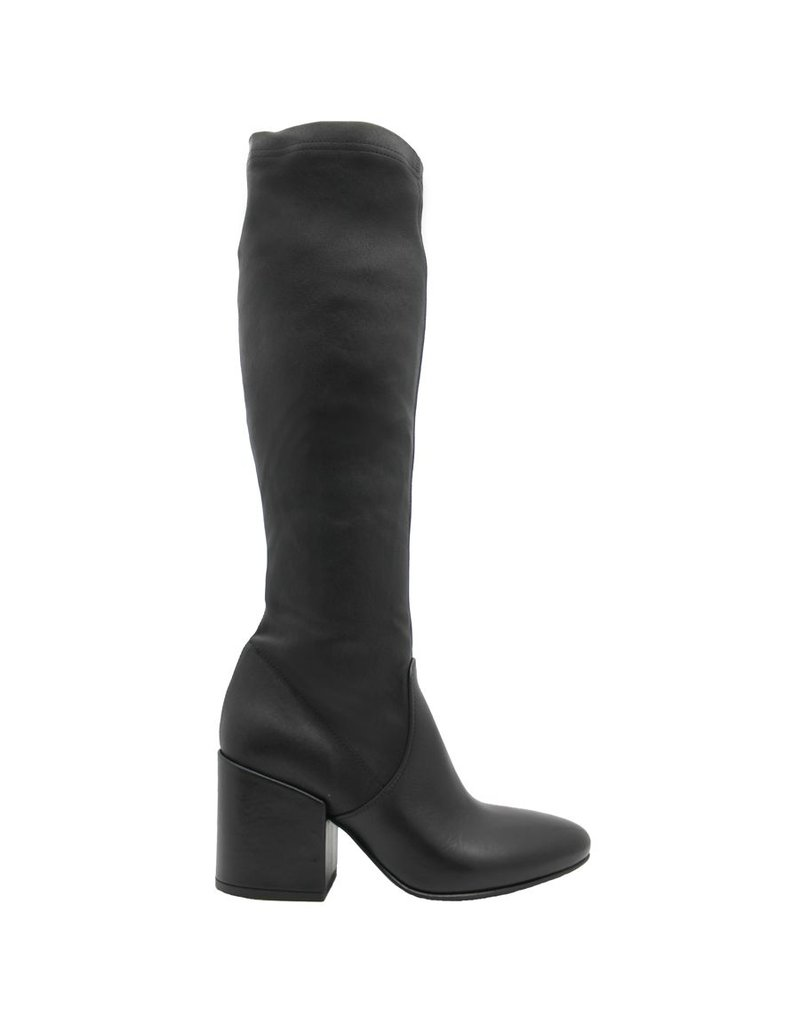 Strategia Strategia Black Stretch/Nappa Knee Boot 2828