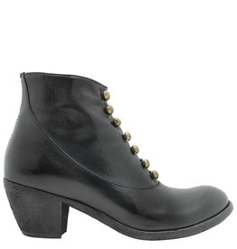 Officine Creative OfficineCreative Black Military Ankle Boot Roza