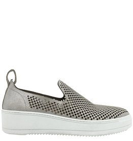 Now Now Ivory Perforated Tennis Shoe 3912