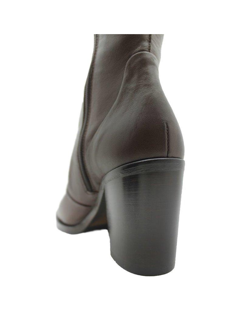Strategia Strategia Brown Medium Heel Knee Boot 1939