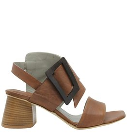 Ixos Ixos Camel 2 Peice Sling Sandal Geometric Heel 6606
