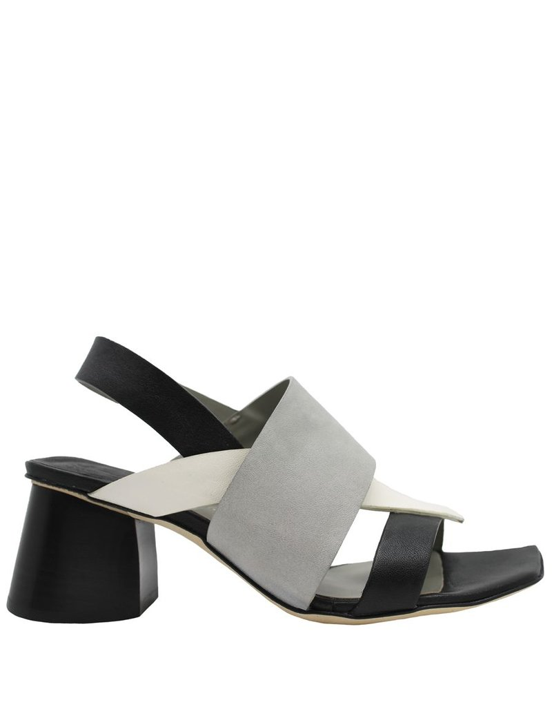 Ixos Ixos Black, Latte, Grey Sandal 6608