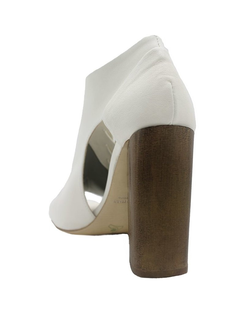 Ixos Ixos Latte High Block Heel Asymmetric Open Toe Sandal 3510