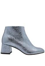 Paola d'Arcano Paola d'Arcano Blue Crinkle Ankle Boot 1414