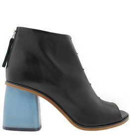 Halmanera Halmanera Black /Sky Heel Ankle Boot Paola