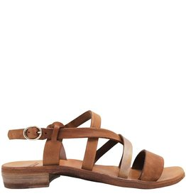 Officine Creative OfficineCreative Camel Flat Buckled Sandals Ida