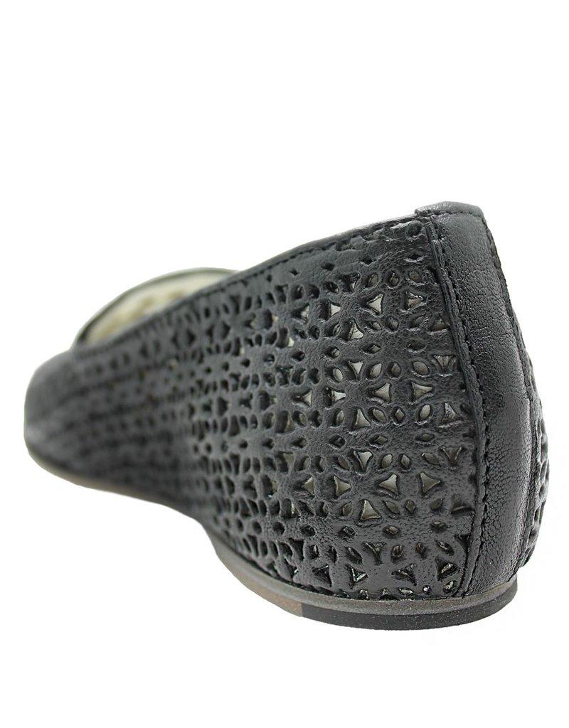 Ink INK  Black Mesh Loafer 1741