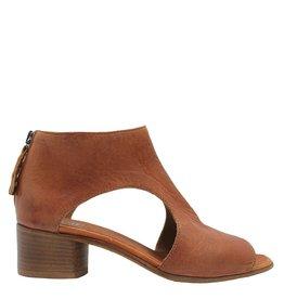Moma Moma Camel Open Side Back Zipper Sandal 4870