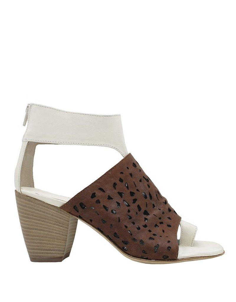 Ixos Ixos Latte Camel Laser Toe Wrap Sandal 2531