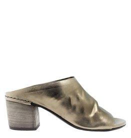 Del Carlo DelCarlo Gold Open Toe Mule 1041