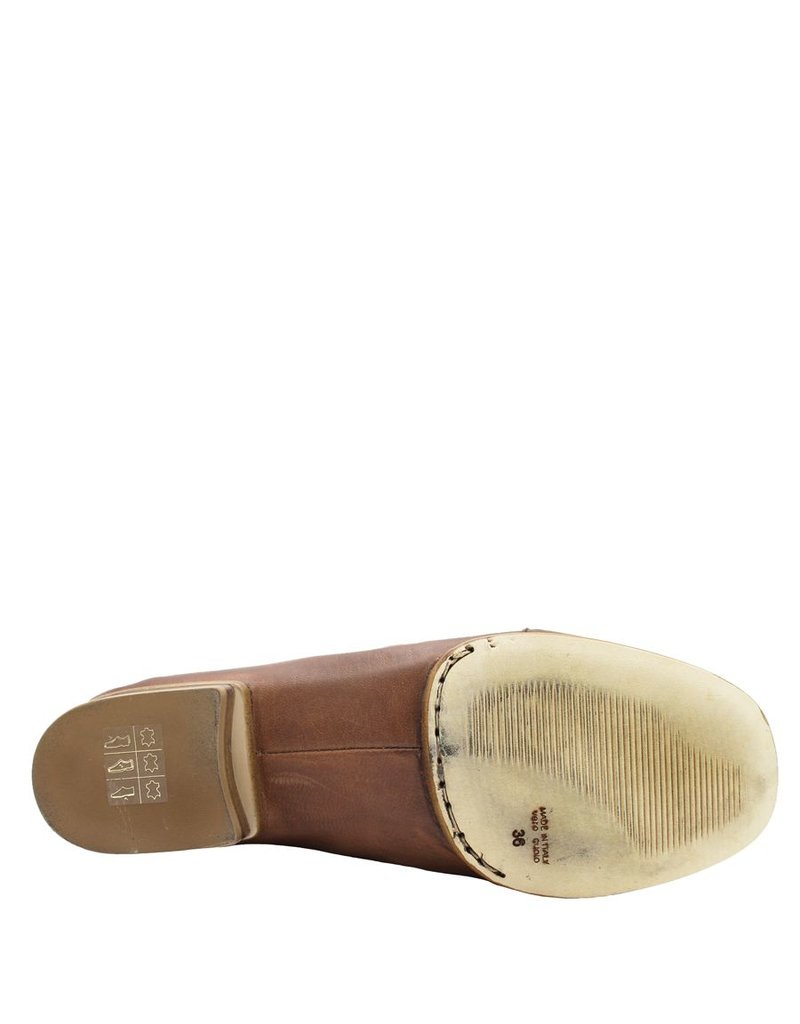 Ixos Ixos Tan Slip-On With Perforated Toe 1079