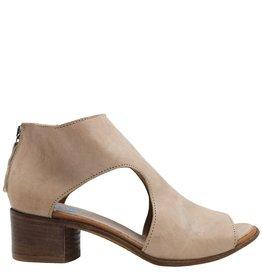 Moma Moma Blush Open Side Back Zipper Sandal 4870