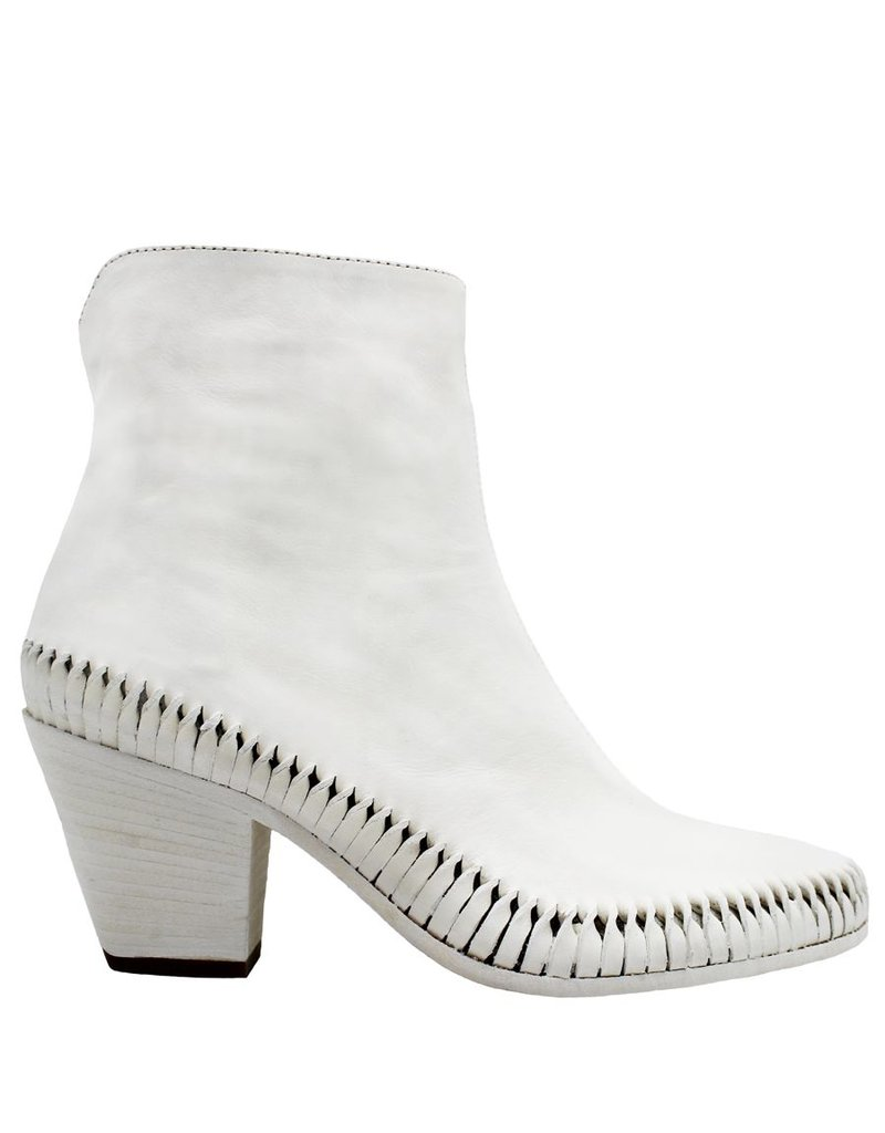Officine Creative OfficineCreative White Ankle Boot Irene