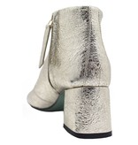 Paola d'Arcano Paola d'Arcano Gold Crinkle Ankle Boot 1414