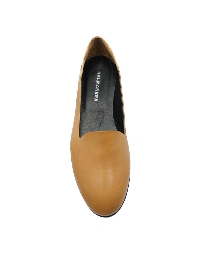 Halmanera Halmanera Tan Slip-On Loafer Rubber Bottom Aniya