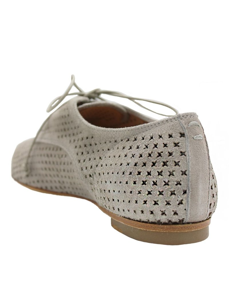 Halmanera Halmanera Grey Suede  Point Toe Oxford Elodie