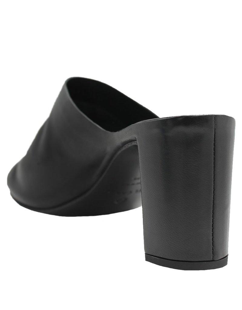 Del Carlo DelCarlo  Black Mule With Heel 1033