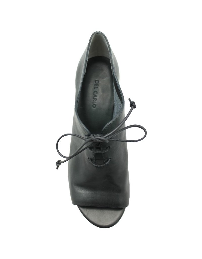 Del Carlo DelCarlo Navy Open Toe Oxford 1043