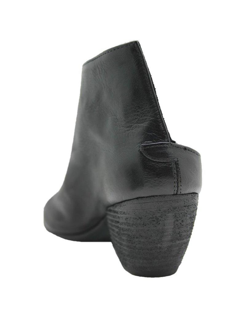 Officine Creative OfficineCreative Black Asymmetric Mule Jamie