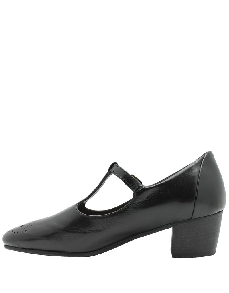 Pantanetti Pantanetti Black MaryJane Shoe 9462