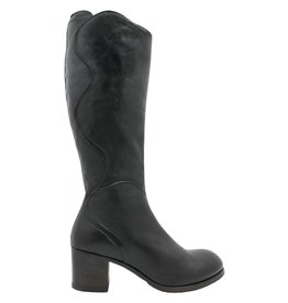 Moma Moma Black Knee Boot 2604