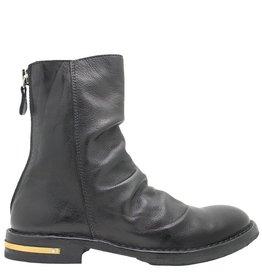 Moma Moma Black Back Zipper Boot 2606