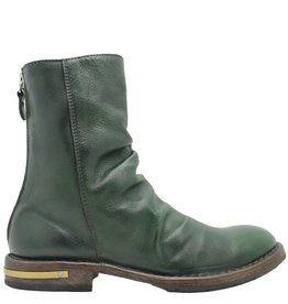 Moma Moma Green Back Zipper Boot 2606